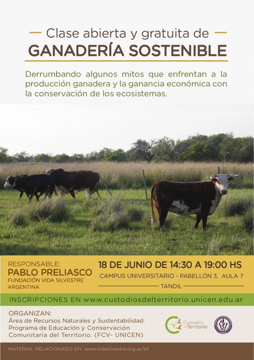 Flyer Ganaderia sostenible